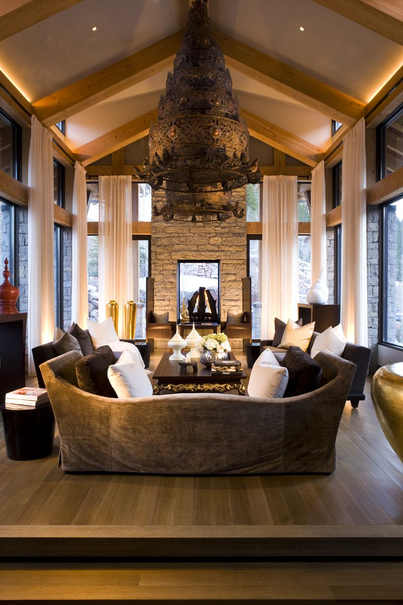Stunning living room by petra richards interiors home decor also rh pinterest
