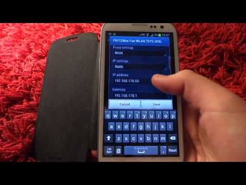 Change Ip Address and Proxy Settings On the Samsung Galaxy s3 And s3
