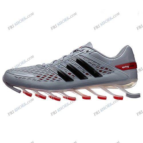 Adidas springblade rasoio grigio rosso uomini scarpe da ginnastica
