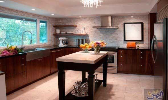 نصائح تساعدك على استغلال المساحات الصغيرة في المطبخ Modern Kitchen Design Kitchen Cabinet Design Beautiful Kitchen Cabinets