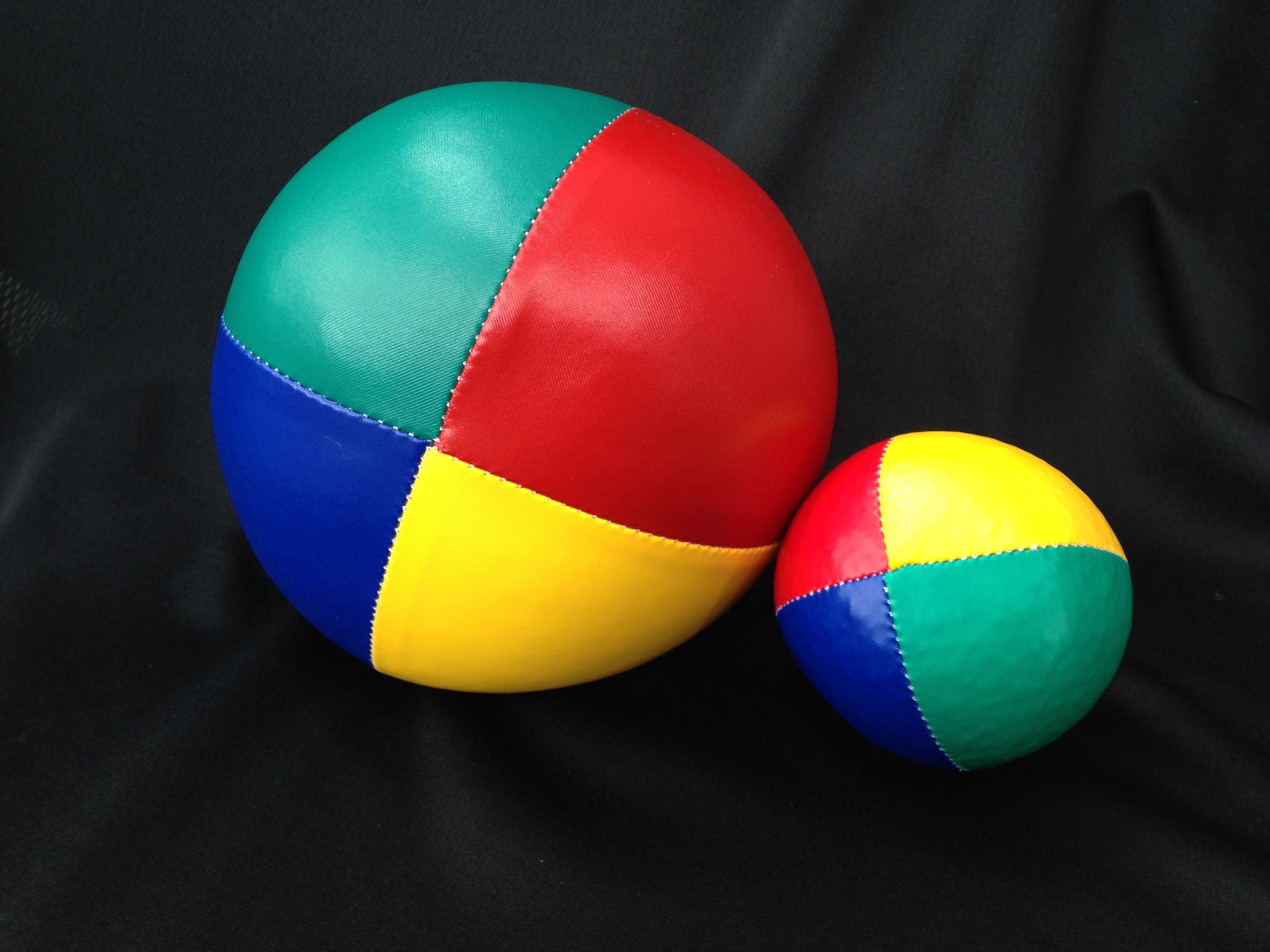 Big ball, small ball | Big balls, Ball, Ball exercises