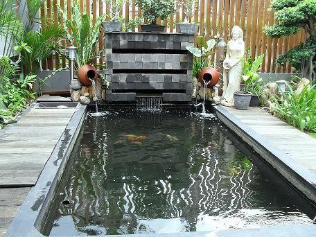 Klaten Koi Farm koi pond Landscaping