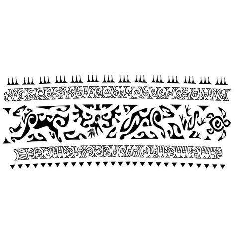 Maori Tattoo Bracelete Tatuagem Maori Bracelete Maori Tatuagem