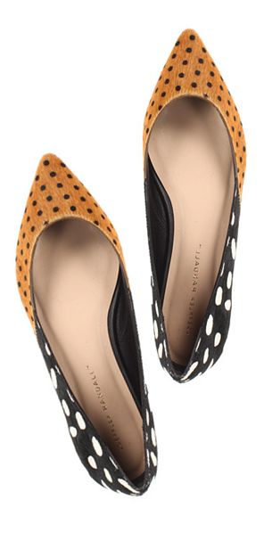 spotted & speckled. #fallfashion #shoesflats