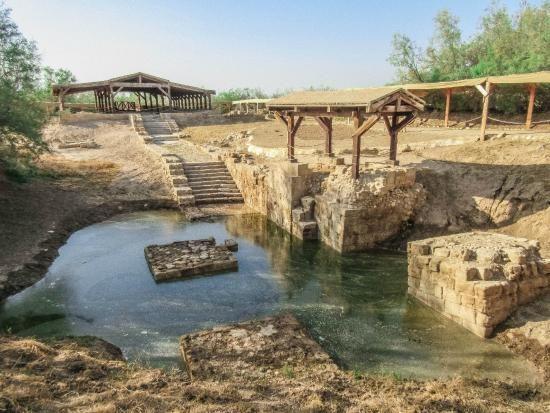 "Baptism Site ""Bethany Beyond the Jordan"" (Al-Maghtas) Jordan UNESCO |  Unesco sites, Unesco world heritage site, Israel travel"