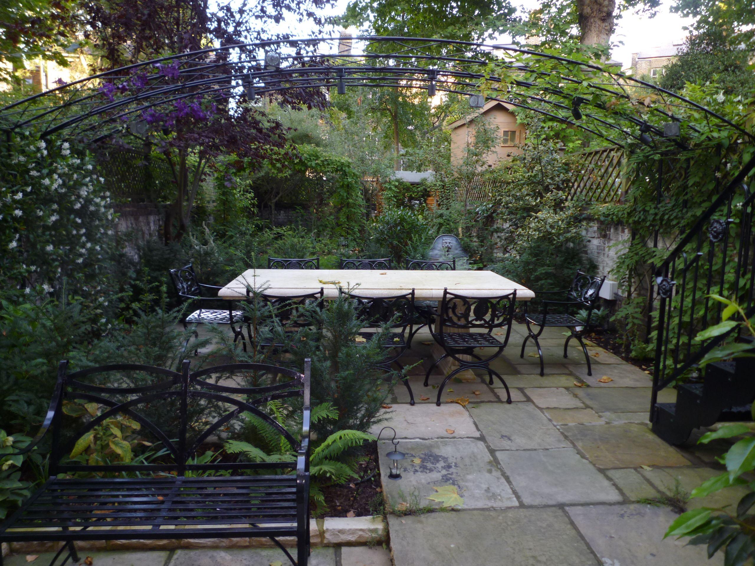 award winning town house garden london designed by aralia garden