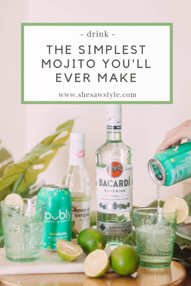 How to Make a Refreshing Mint Mojito | She Saw Style