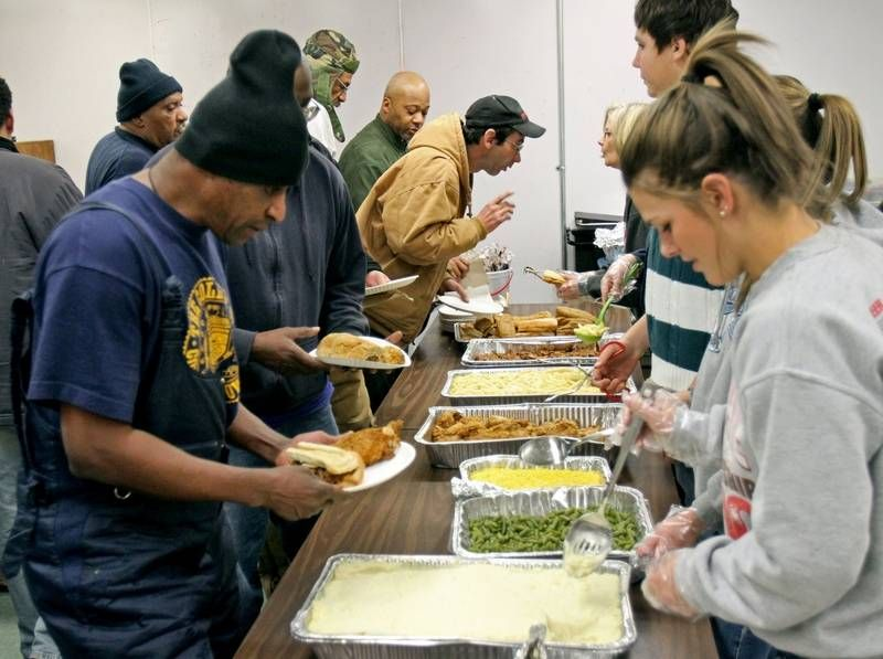 Thanksgiving Soup Kitchen Chicago