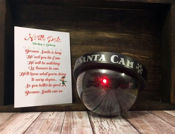 Santa Cam Elf Watch Realistic Camera Elf
