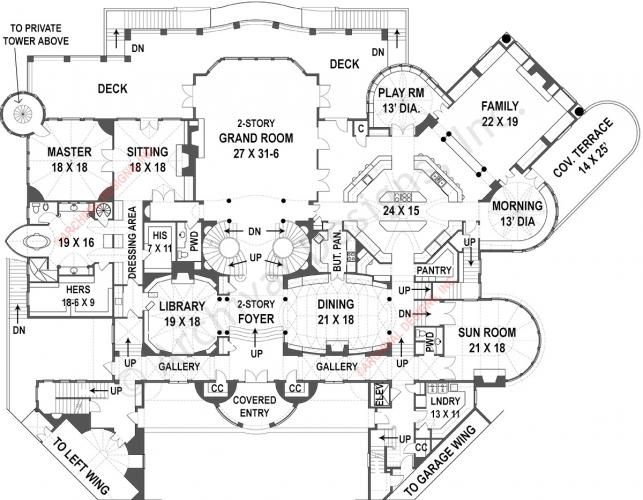 balmoral | castle plans | luxury home plans | house, bedrooms and
