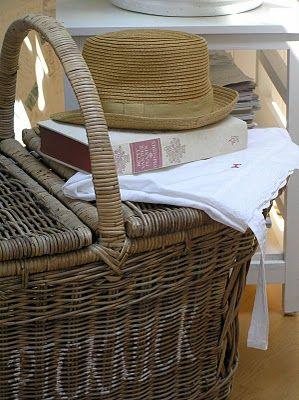 Inspirational Wicker Basket for Blankets