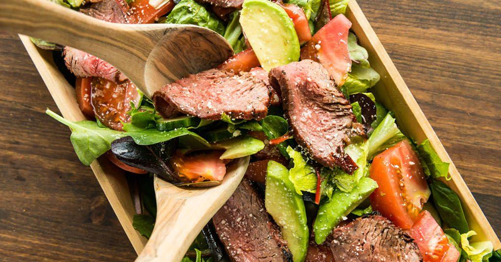Grilled Steak Salad   Recipe   Food recipes, Grilled steak ...