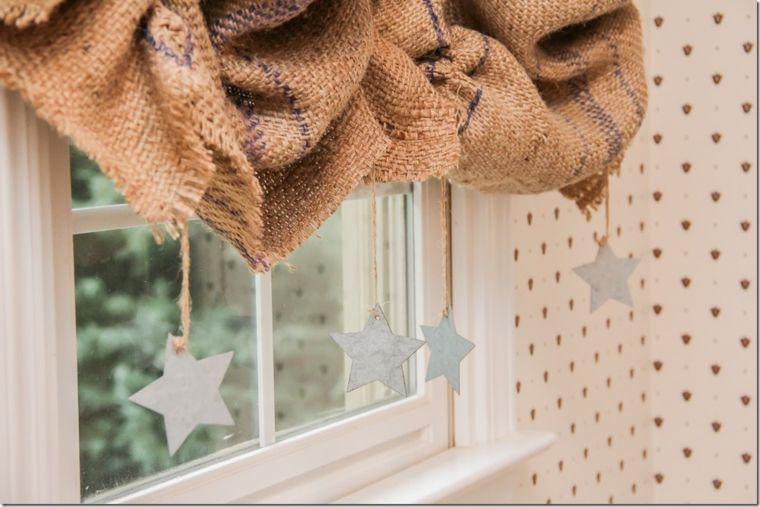 cortinas para ventanas pequeñas de arpillera Decoración Pinterest - cortinas para ventanas