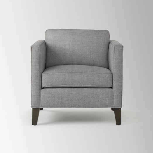 High Quality Dunham Down Filled Armchair   Boxed (Solids) | West Elm