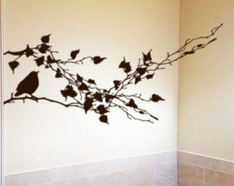 Items Similar To Office Wall Decor Flower Pod Decals Dandelion - Vinyl decals for sliding glass doors