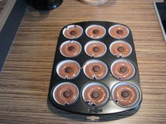 Muffins Toffifee Muffins Recept Taarten Etc Pinterest
