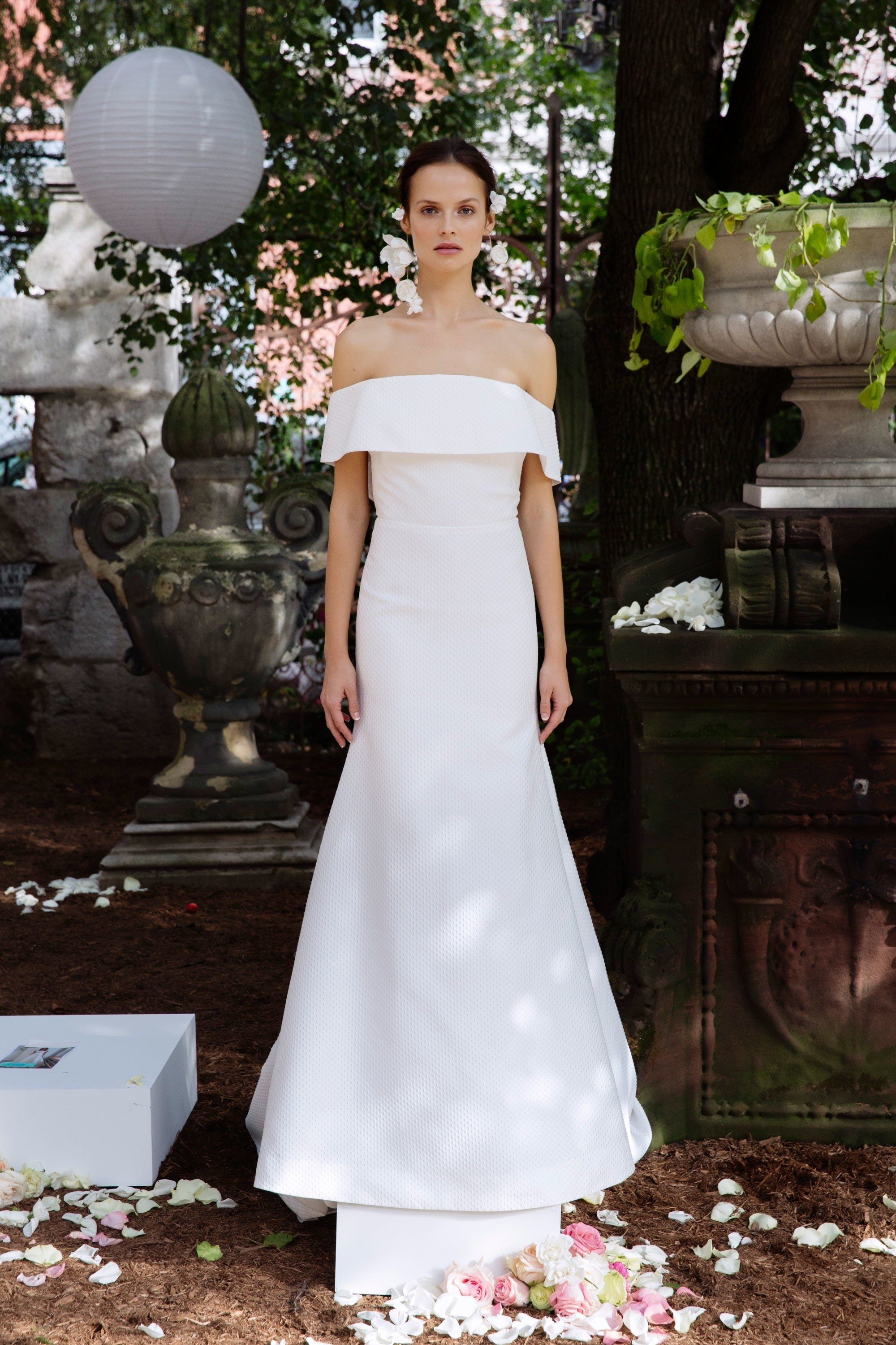 The best new wedding gown styles straight from bridal fashion
