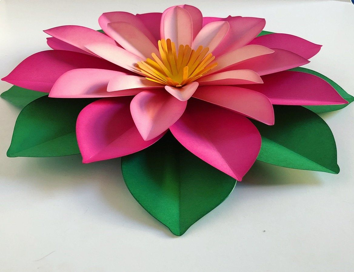 Large Paper Flower Fully Assembled Paper Flowers Diy Large