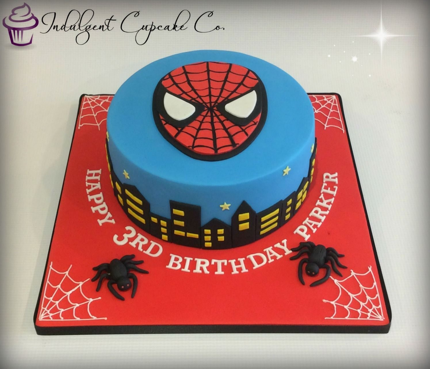 Spiderman Cake Birthday Stuff Birthday Cake