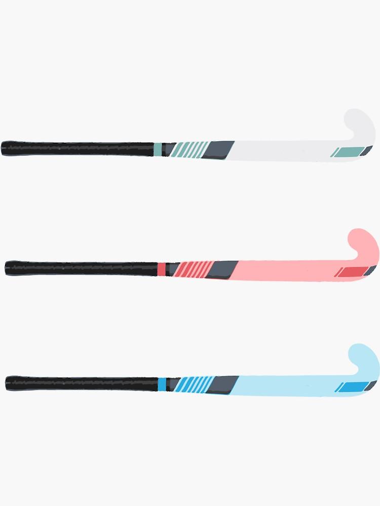Field Hockey Stick Ers Sticker By Platyopus In 2020 Hockey Stick Field Hockey Sticks Hockey