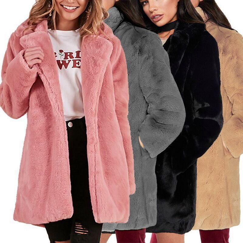 b17db96967769 Fashion Women Winter Coat Ladies Fluffy Fur Warm Casual Long Jacket Outwear  HOT  fashion  clothing  shoes  accessories  womensclothing  tops (ebay link)