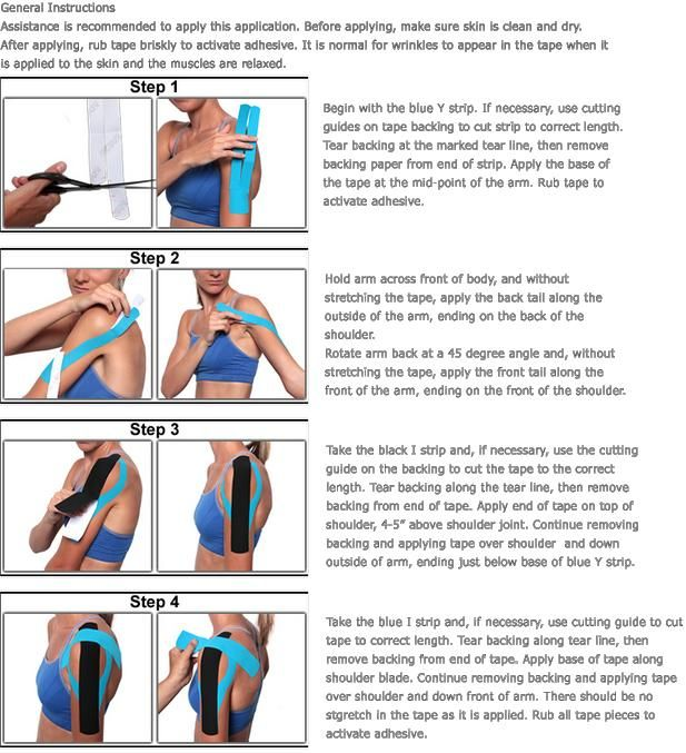 Highlands Ranch Gym Schedule: Kt Tape Yourself- Rotator Cuff! Tomorrow I Am Gonna Try So