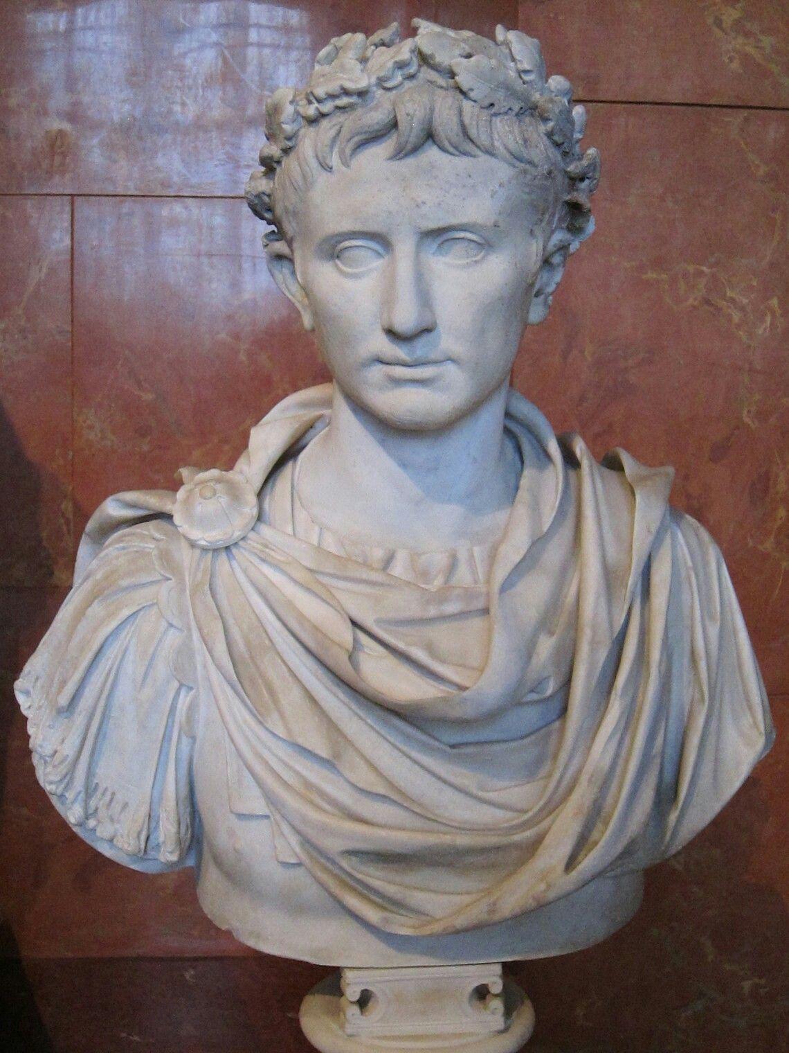 statue of Octavian, Augustus, first Roman emperor