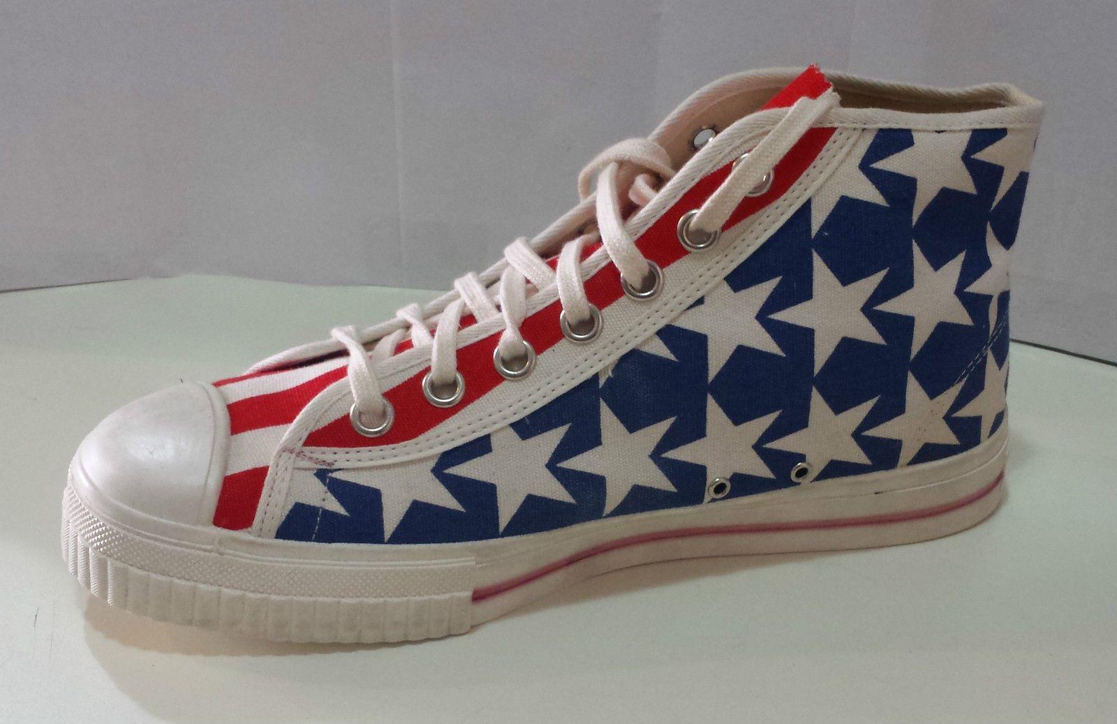 0e1755c246 Palladium Converse Modello Bandiera Americana Scarpe Vintage Alte xqw7CTTU