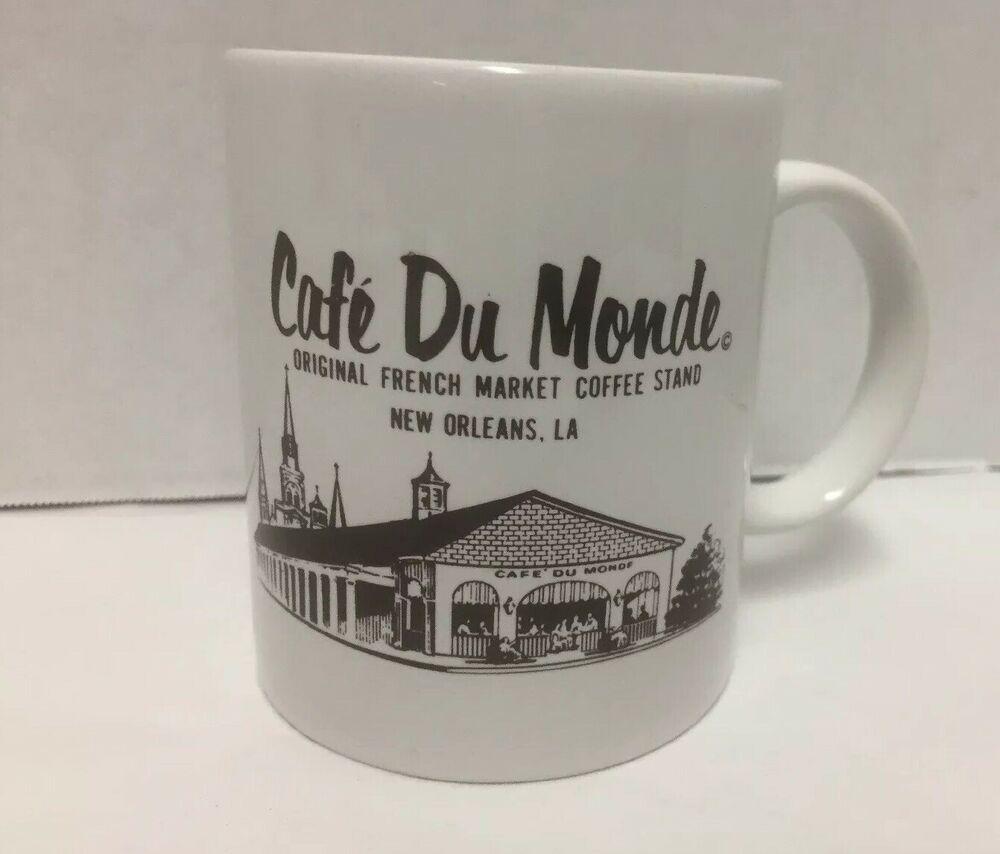 Cafe du Monde Coffee Mug Original French Market New