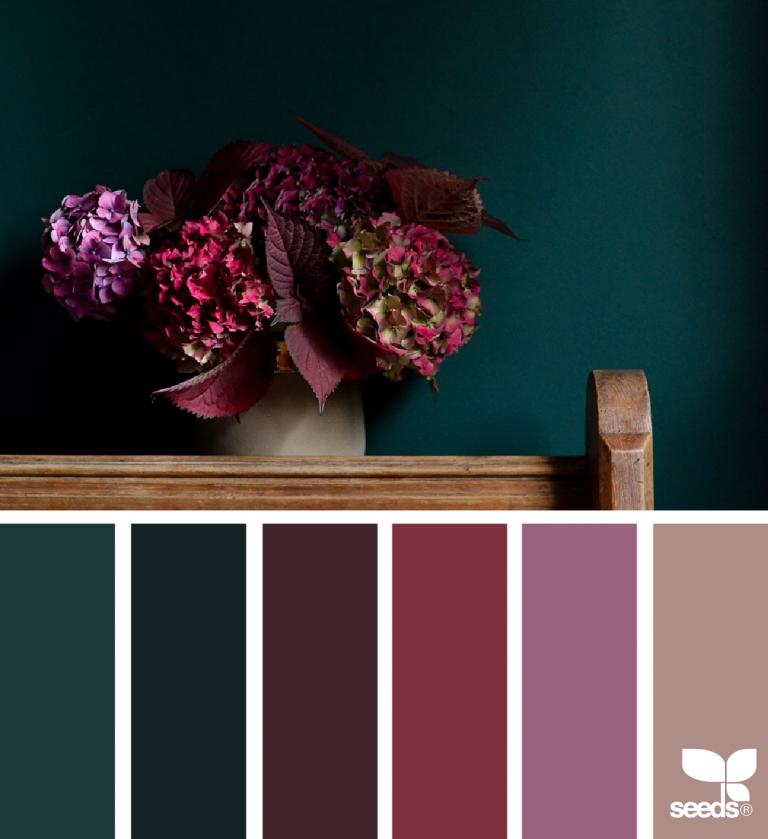 Flora Hues -  Inspiration | Farbe | Farbkarten | Farbpalette | Farbverlauf | Wandfarbe | color palette | Farbberatung | Stilberatung