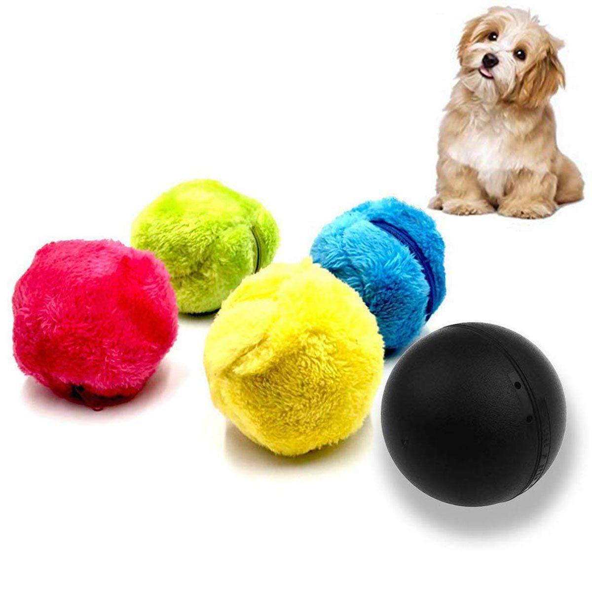 4pcs Set Magic Roller Ball Toy Automatic Roller Ball Pet Cat Dog