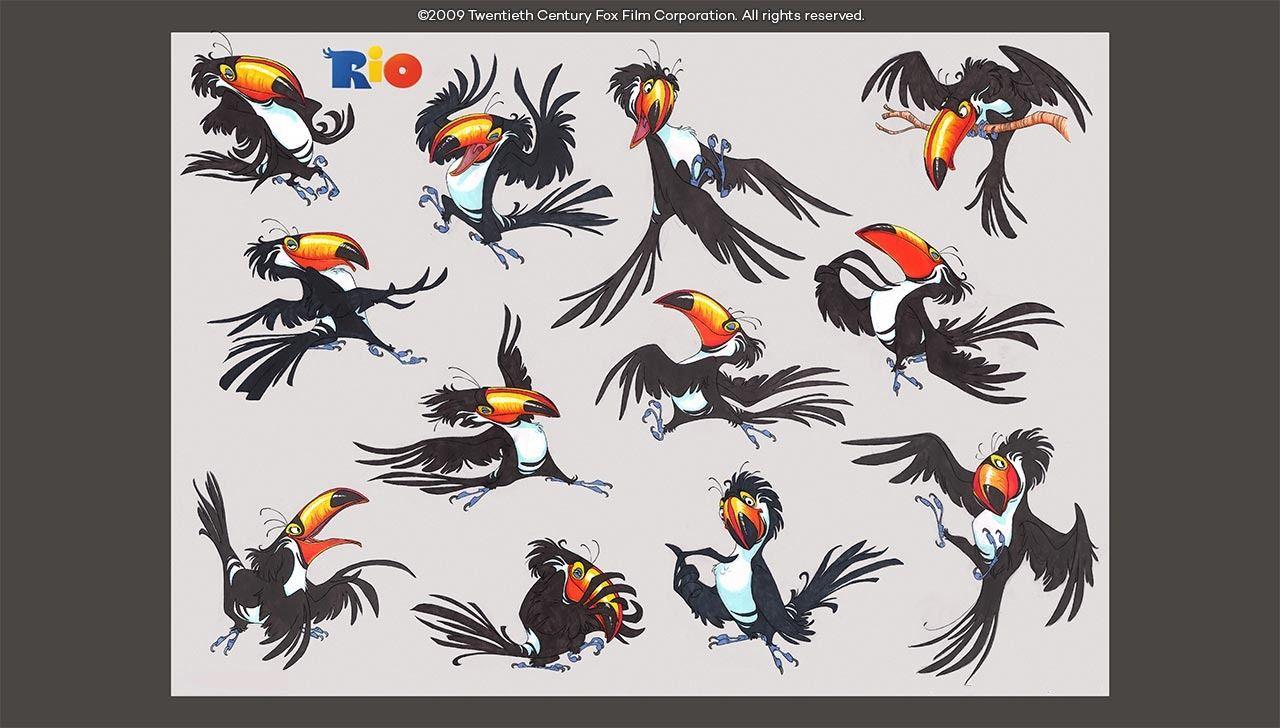 Animal Character design  - Rio, the spa studios