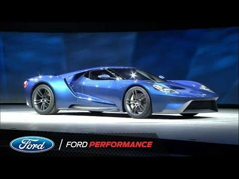 Ford Motor pany Unveils the New GT Ford GT Ford Performance