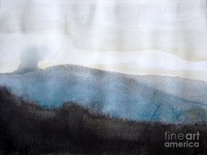 Painting - When Etna Idle by Vesna Antic