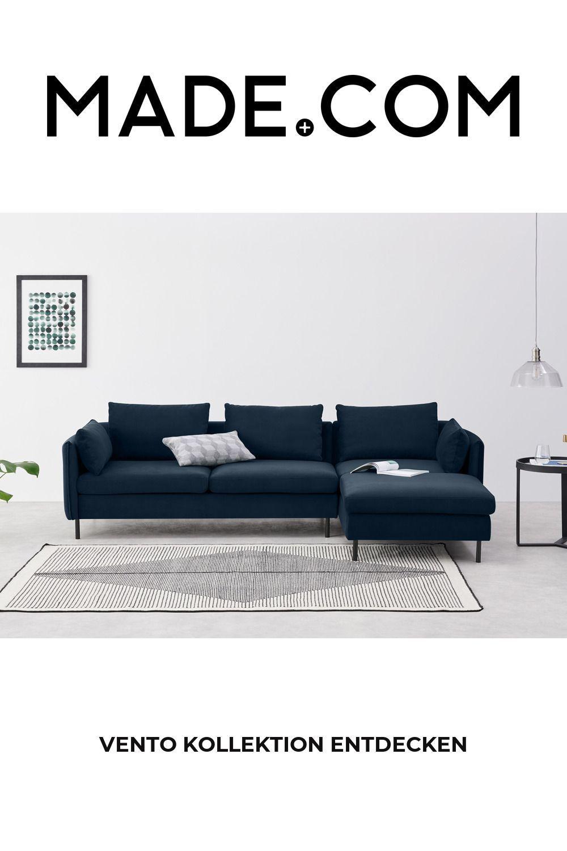 Made Corner Sofa Blue In 2020 Corner Sofa Chaise Corner Sofa Sofa