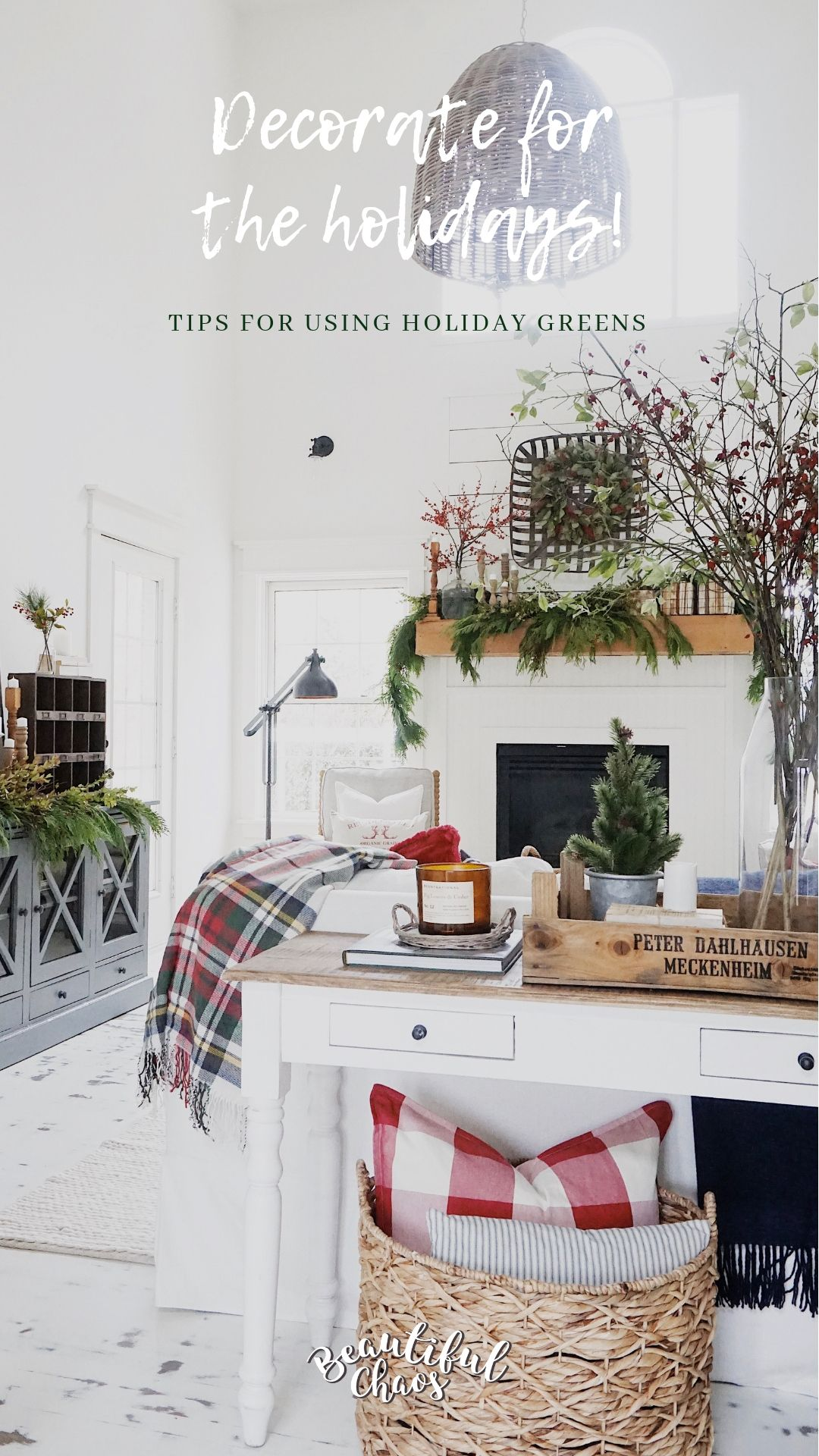 Decorate with evergreens this holiday season Learn how to keep real
