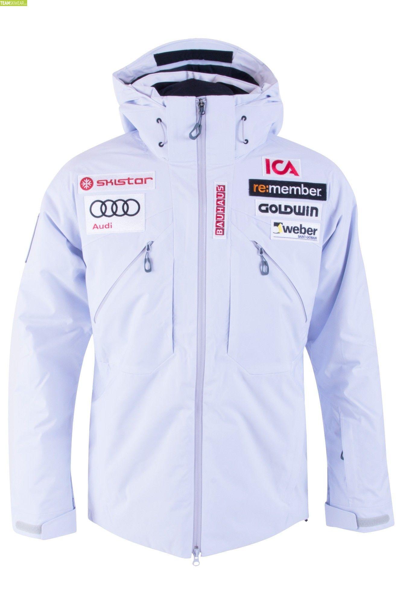 Goldwin Men Sweden Alpine Team Jacket Snow White | Wolle
