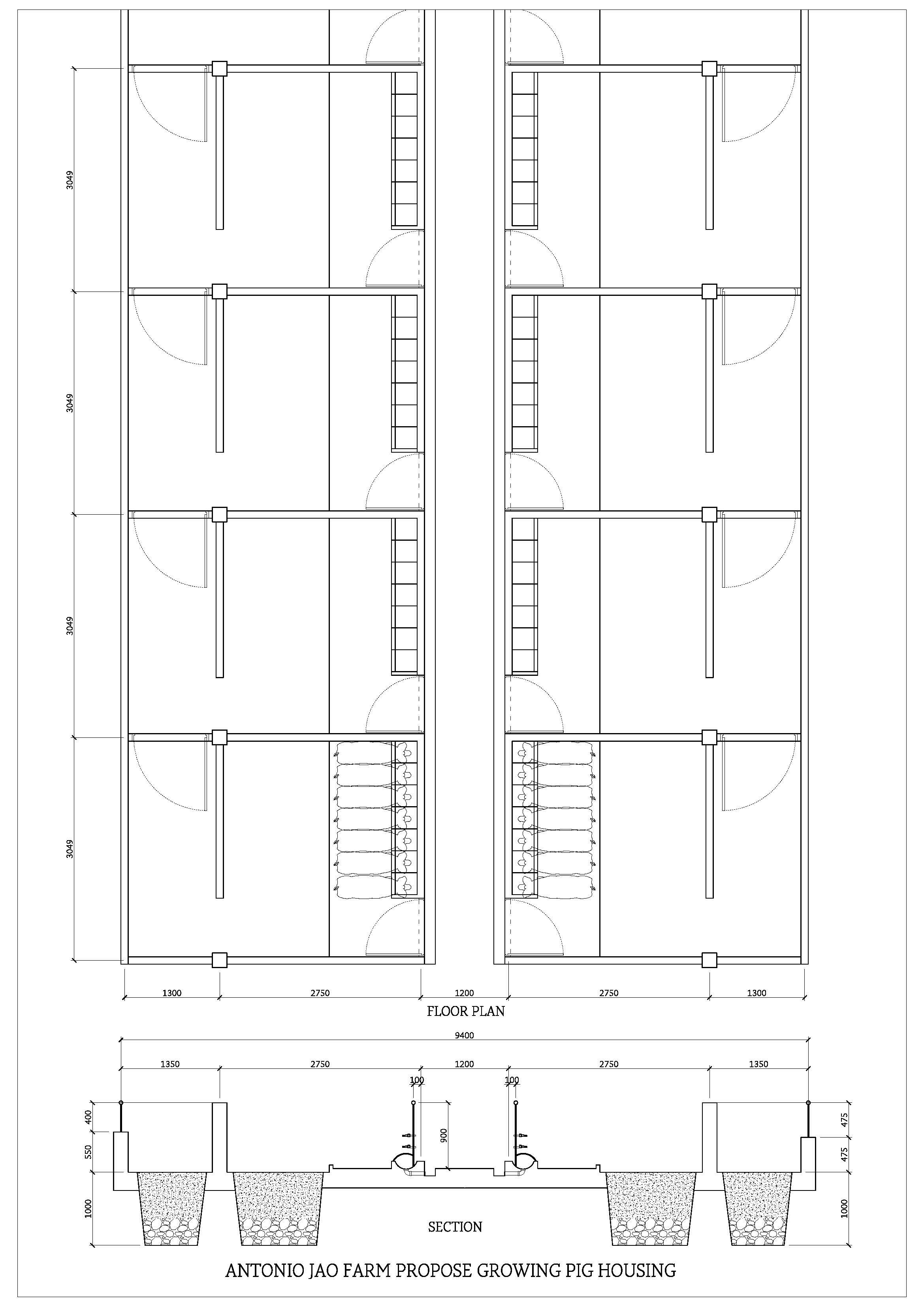 Pin On Diseno De Granja Backyard piggery house design