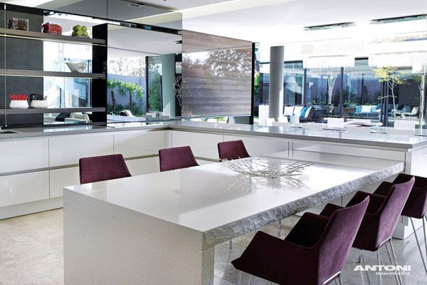 Sparkling Glass House in Johannesburg Twinkles with Glittering Contemporary  FeaturesSparkling Glass House in Johannesburg Twinkles with Glittering  . Kitchen Designs In Johannesburg. Home Design Ideas