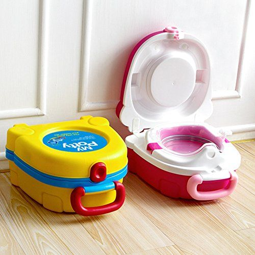 Lopkey Home Cartoon Children Potty Seat Traveling Car Portable Toilet For Kids Kids Toilet Kids Potty Potty Chairs For Toddlers