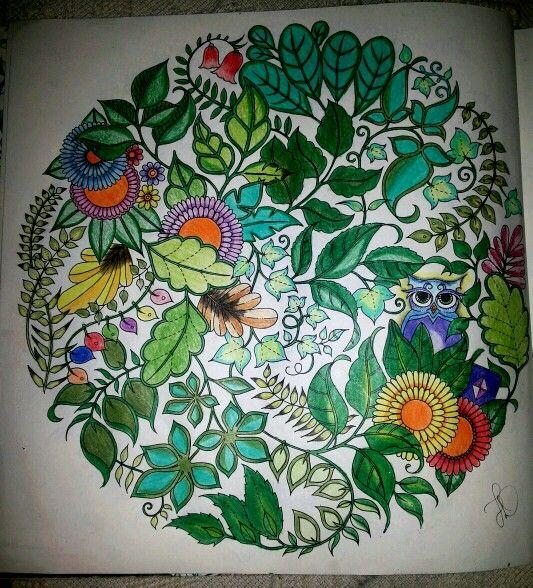 Floresta Encantada Pág 10 - folhas
