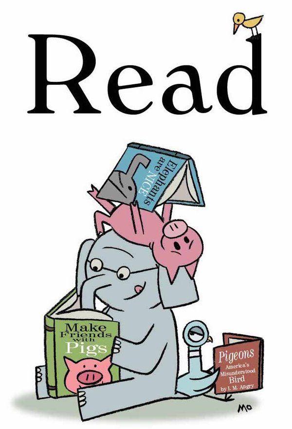 Mo Williams Elephant, Pig, and Pigeon | Carteles. Kartelak ...