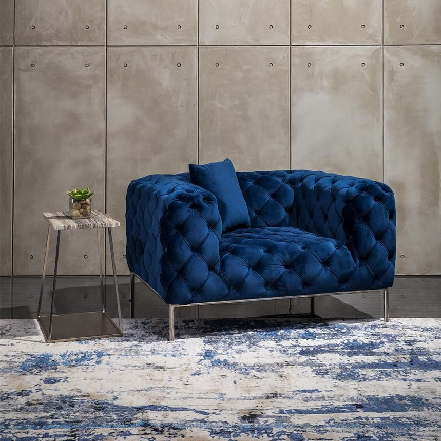 Lovely Chair and A Half Tufted