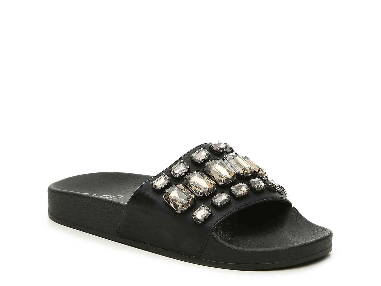 Black sandals at dsw - Dsw Frigossi Slide Sandal