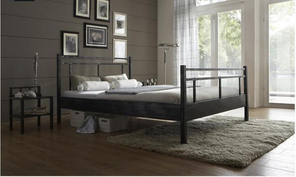 łóżko Metalowe łóżka Nowoczesne 160x200 4965922556