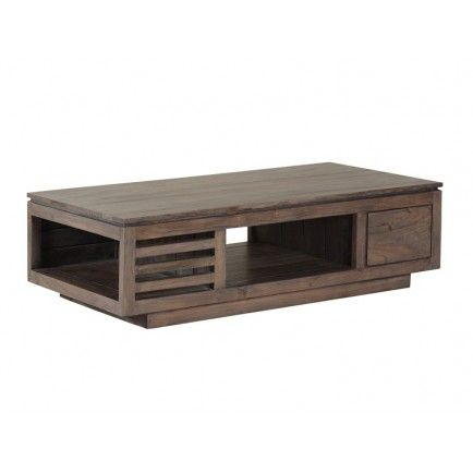 Basse Tara Acacia Table Grisée Design Ygbf7v6y