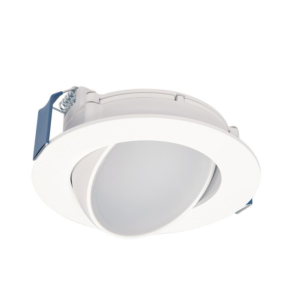 canless recessed wide beam adjustable