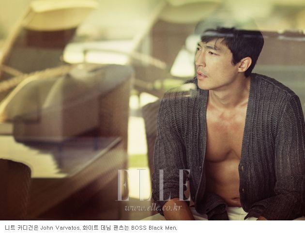Daniel Henney in Elle Korea June 2012