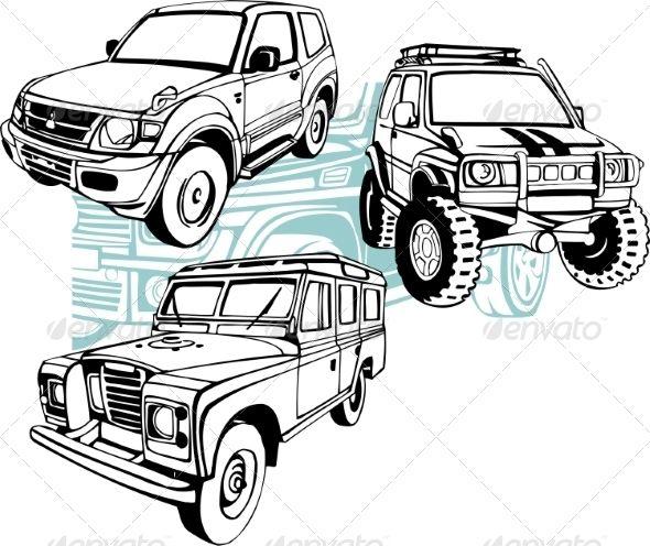Gambar Animasi Mobil Offroad Tinkytyler Org Stock Photos Graphics