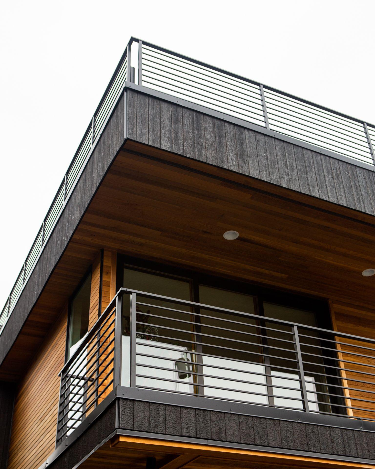 Midvale House Nakamoto Forestry Yakisugi Shou Sugi Ban Exterior Wall Cladding Wall Cladding Cladding